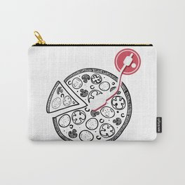 Cheesy Music Carry-All Pouch