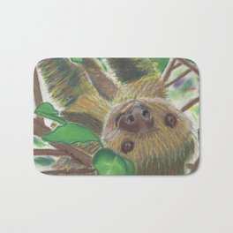 Suzie Sloth Bath Mat