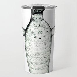 Patterned Pinguin Travel Mug