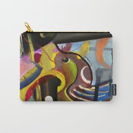 Circus Juice (oil on canvas) Carry-All Pouch