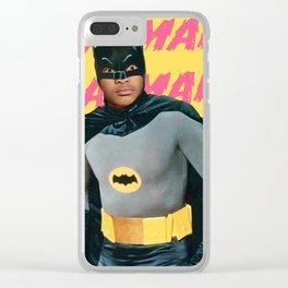 Jaden? Or Bruce Wayne? Clear iPhone Case