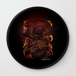 Dragon (Signature Design) Wall Clock