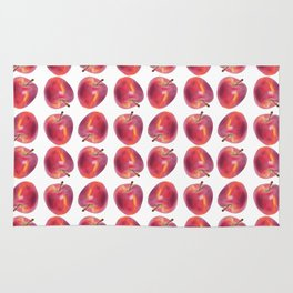 Red Apple pattern Rug