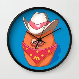 McNugget Buddies Cowboy 1988 Happy Meal Toy Wall Clock