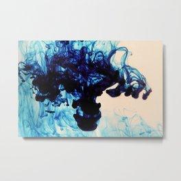 Blue Haze Metal Print