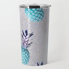 Pine-apple Bleu Travel Mug