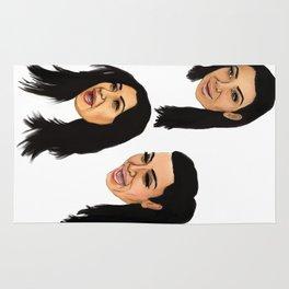 Krying Kim Kardashian  Rug