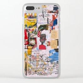 Al Diaz Clear iPhone Case