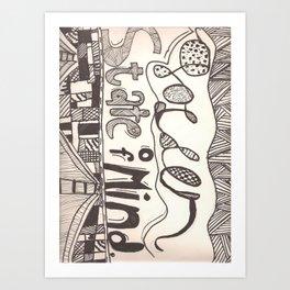 Golden State Of Mind Art Print
