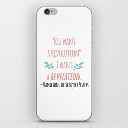 THE SCHUYLER SISTERS | HAMILTON iPhone Skin