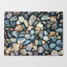 Sea Pebbles Canvas Print