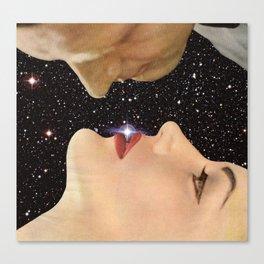 Interstellar kiss Canvas Print
