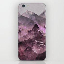 Quartz Mountains iPhone Skin