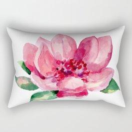BEAUTIFUL ROSE PAINTED Rectangular Pillow