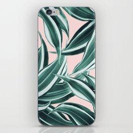 Dracaena Tropical Leaves Pattern #1 #tropical #decor #art #society6 iPhone Skin