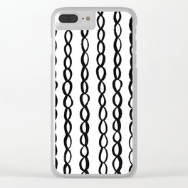 Chain Chain Chain Clear iPhone Case
