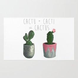 Cactu + Cacti = Cactus Rug