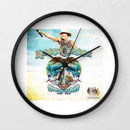 KENNY CHESNEY TOUR 2016 Wall Clock
