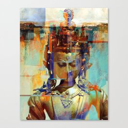 Dakini Wisdom Goddess #5 Canvas Print