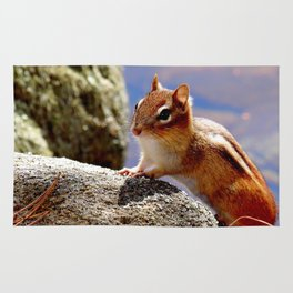 Portrait of a Chipmunk Rug