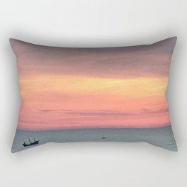 Sunset Treasure Rectangular Pillow