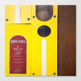 9 Balls Canvas Print
