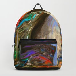 Mother Nature in Sea Blue Backpack