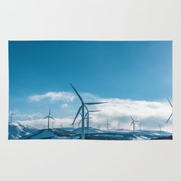 The Wind Farm (Color) Rug