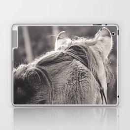 Winter Fluff - Horse Photography Laptop & iPad Skin