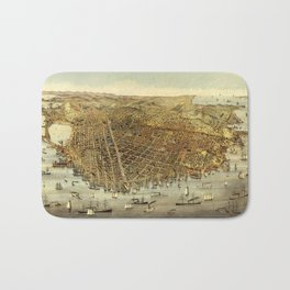 San Francisco Waterfront Bath Mat