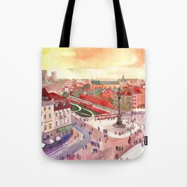 Evening in Warsaw Tote Bag