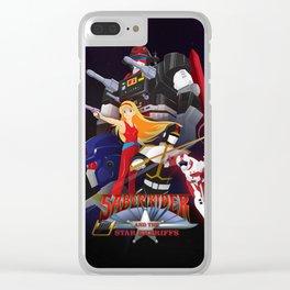 Bismarck Saber Rider Clear iPhone Case