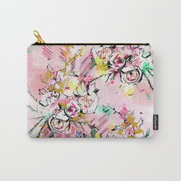 FLORAL ARROW Carry-All Pouch