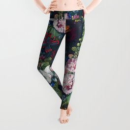Summer Flowers III Leggings