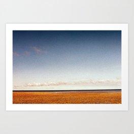Low Tide (Velvia Summer) Art Print