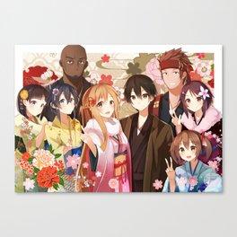 SAO Flower Spring Canvas Print