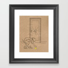 Indoor Golf Framed Art Print