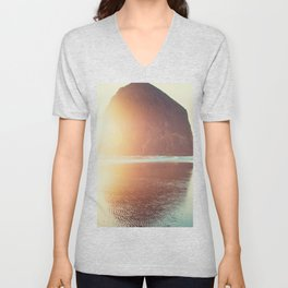This is where I want to be... Unisex V-Neck