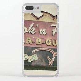 Piggy Clear iPhone Case