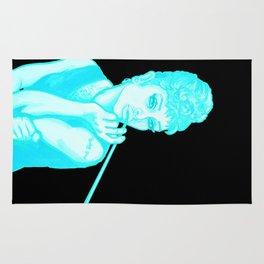 Gia as Hepburn Bright Blue Rug