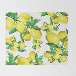 lemon Throw Blanket