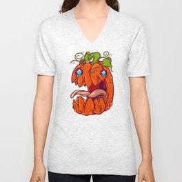 Big Bad Pumpkin Unisex V-Neck