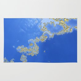 Orencyel : sky gazing before this golden melody Rug