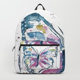 Vibrant Butterfly Backpack