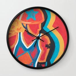 Rage On Wall Clock