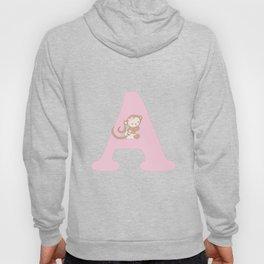 A - pink Hoody