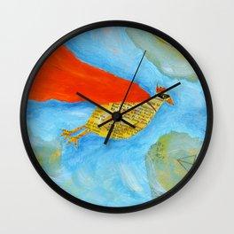 super chick Wall Clock