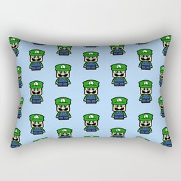 Super Chibi Luigi Rectangular Pillow