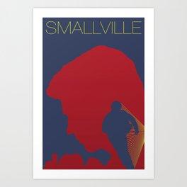 Smallville Art Print
