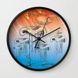 Between Scylla and Charybdis Wall Clock